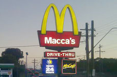 maccas drunk driving