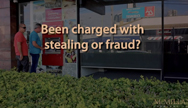 Been charged with stealing or fraud?