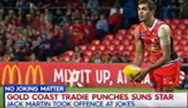 Gold Coast Sun's AFL Footballer Attacked